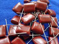 US Stock 50pcs CBB Metallized Film Capacitor 0.68UF 684J 250V