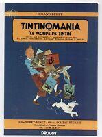 Carte postale Tintin. Carte annonçant la vente aux enchères Tintinomania1. 1990