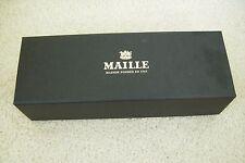 MAILLE MAISON FONDEE EN 1747 4 X MINI JARS OF MUSTARD BLACK EMPTY BOX FREE P&P