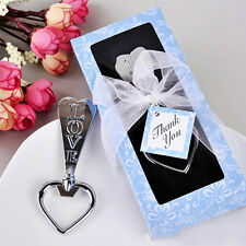 Unique Love Heart Beer Bottle Opener Wedding Party Favors  High Quality