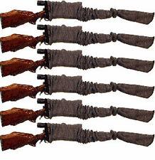 Sack - Ups 52 in Gun Sock Sleeve for Rifle / Shotgun Silicone Treated Six Pack