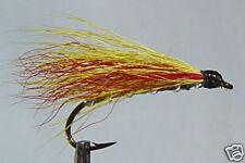 10x Mouche peche Streamer Mickey Finn H10 cerf mosca