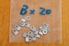 Case clamp mounting  tab B (3.8x2.5mm) 20 pieces for ETA Valjoux movements