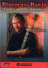 Bluegrass Banjo Tunes And Techniques Lesson Tutor DVD
