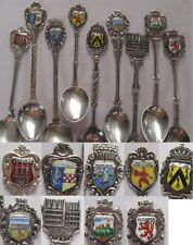 Coat of Arms Coffee Spoons 9 Stück - 90 or 100ER Silver Edition Spoon