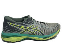 Asics Gel Cumulus 19 Running Shoes Womens Size 8 Gray Blue Green Sneakers T7B8N