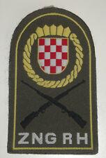 ZNG RH Croatia Army sleeve patch 1991 homeland war Croatian National Guard unuse