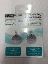 GENUINE Sureflap Surefeed Microchip Rfid Collar Tags (Pack of 2)