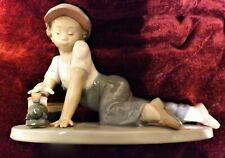 """LLADRO FIGURINE  """" All Aboard   """"   No.7619, In Very Good Condition."""