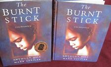 The Burnt Stick ~ Anthony Hill / Mark Sofilas. Aboriginal   HbDj. HERE  in MELB!