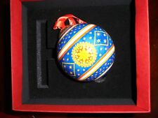 Halcyon Days Ball Christmas Ornament Ball Nib