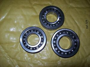 Triumph 2H 3H T70 T80 3S 5S crankshaft bearings