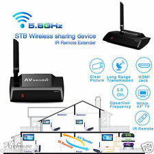 5.8GHz 300M HDMI 1080P AV Sender TV Wireless Transmitter Receiver Audio Video MT