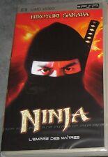 """UMD VIDEO PSP """"Ninja"""" (l'empire des maitres) NEUF SOUS BLISTER"""