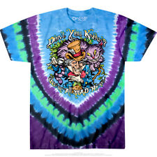 DON'T YOU KNOW-MAD HATTER-ALICE-2 SIDED TIE DYE T-SHIRT- S-M-L-XL-2X,3X-4X-5X-6X