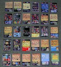 Vintage Star Wars x 30 DIFFERENT BACKS OF BACKING CARDS,CARDBACKS,DISPLAY SIZE.A
