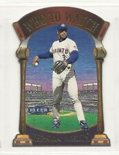 2000 Fleer Tradition - Who To Watch - #14 - Vernon Wells - Toronto Blue Jays