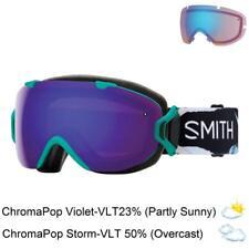 Smith Optics I/OS Goggles (Black/ChromaPop Everyday Violet Mirror / StormRoseF.)