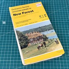 1992 Outdoor Leisure 22 Edition A8 New Forest Ordnance Survey Map