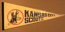 Vintage 1974 | Kansas City Scouts | 30x12 Pennant