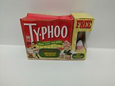 Vintage Wallace and Gromit Boxed Typhoo Tea with Feathers McGraw Salt Pot - New