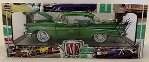 M2 Machines Detroit Cruisers 1957 Chevrolet 210 Hardtop Die Cast,1:24,MIB (B61)
