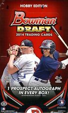 2014 Bowman Draft Picks Baseball Factory Sealed 12 Box Hobby Case - 12 Autos