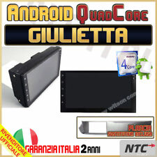 AUTORADIO Slim Android Quada-Core ALFA ROMEO GIULIETTA Navigatore GPS MAPPE W...