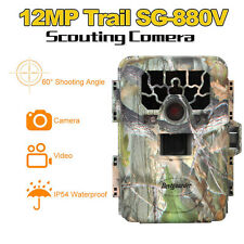 Trail Camera Home Security 880V Farm Hunting Scouting IR 940nm+6800 Battery+16G