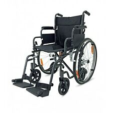2 in 1 Lightweight Folding Self Propelled or Transport Transit Wheelchair In One