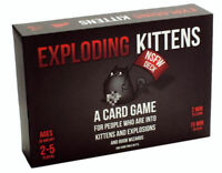 EXPLODING KITTENS  A Card Game  NSFW Deck Adult Party Game NEW