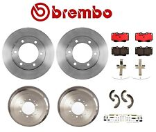 15'' Wheels Brembo Rotors Drums Pads Shoes Brake Kit for Toyota 4Runner '96-'00