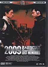 DVD - 2009 Lost Memories - 2 DVD Special Limited Edtion / #13720