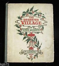 The Deserted Village ~ by Oliver Goldsmith ~ Illustrated ~ John C Winston Co.