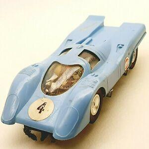 Vintage ITES PORSCHE slot racing toy car 1970's 1/32