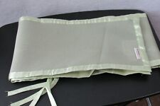 Breathable Baby Green Mesh Crib Bumper Pads