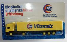 GRELL HO 1/87 CAMION SEMI TRUCK TRAILER MAN F2000 VITAMALZ MARKET GERMAN IN BOX