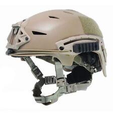 Airsoft bump type casque tan sable de abs commando de marines ussf ops