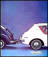 1970 AMC Gremlin, VW Brochure- MINT!