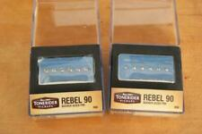 Tonerider Rebel r90 Nickel Set p90 Bucker Alnico II r90n r90b r90set-nk 1a Sound