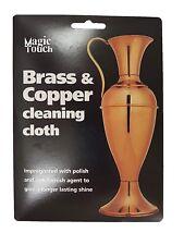 Brass & Copper Anti Tarnish Cleaning Polishing Cloth Shine Magic Touch