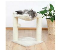Cat Hammock Tree House Furniture Scratcher Tower Bed Scratching Post Toy Condo