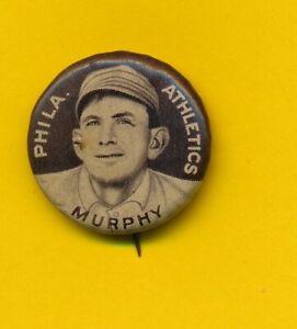 1912 Caporal Pinback - Danny Murphy - Philadelphia Athletics