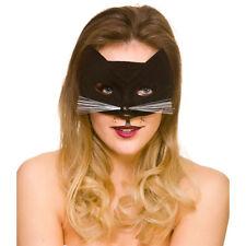 chat Masque pour les yeux femmes noir chat Masque Accessoire déguisement