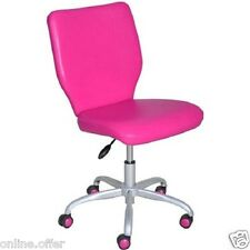 Office Chair For Girls Adjustable Furniture Computer Pink Desk Seat Youth Teen