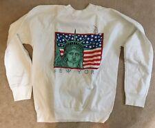 New York NY Statue Of Liberty Sweat Shirt Size Large New
