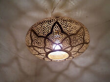 Brass pendant Lighting Moroccan metal Chandelier ceiling lamp shade oriental