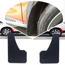 Universal SUV Car Mudflaps Wheel Moulding Fender Mudguard Pair Carbon Fiber look