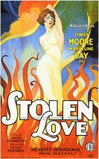 STOLEN LOVE Movie POSTER 27x40 B