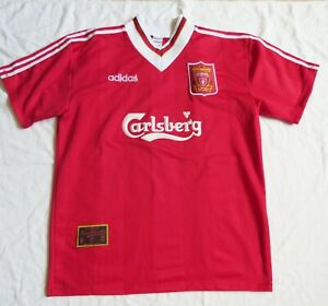 LIVERPOOL FC Adidas Home Shirt 1995/96 (L)